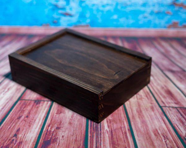 zdjęcia z chrztu łódź pamiątka chrztu świętego drewniane pudełko na zdjęcia 02